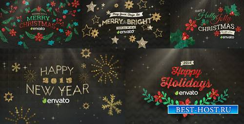 Hanging Holiday Greetings Pack - Project for After Effects (Videohive)