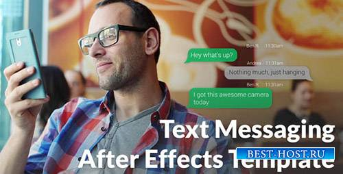 Text Messaging with Photo and Video Options - Project for After Effects (Vi ...