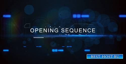 Digital Techno Opening Title - Project for After Effects (Videohive)