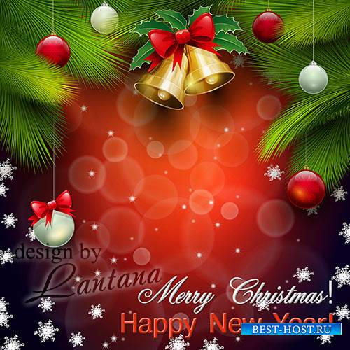 PSD исходник - Волшебный праздник новогодний 18