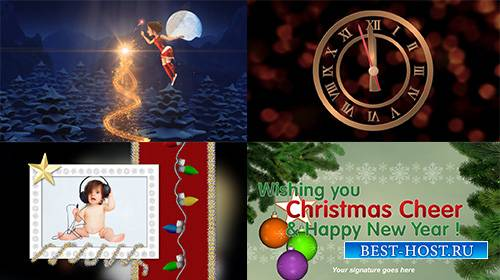 Christmas Fairy Greetings - Project for ProShow Producer