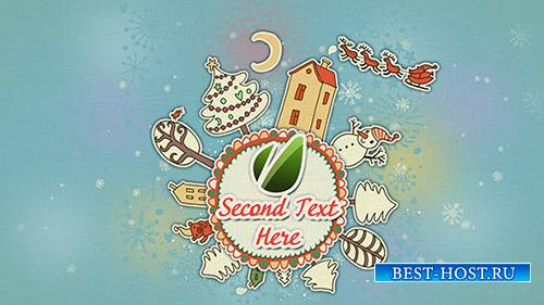 New Year Round Animation - Project for After Effects (Videohive)