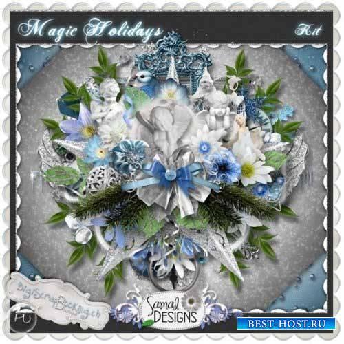 Новогодний скрап-комплект - Волшебные праздники
