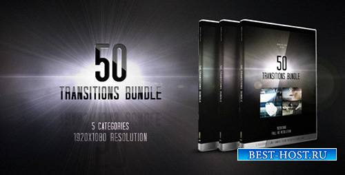 50 Transitions Bundle - Motion Graphics (Videohive)
