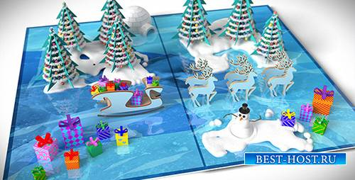 Christmas Pop-Up Card - Project for After Effects (Videohive)