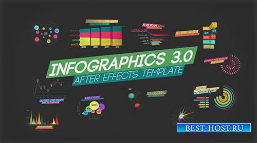 Infographics V3 - After Effects Template (FluxVfx)