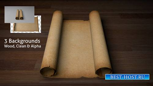 Old Scroll / Parchment (Blank) - Motion Graphics (Videohive)
