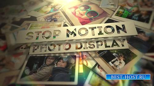 Stop Motion Photo Display - After Effects Template (FluxVfx)