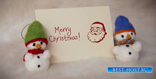 Felt Christmas & New Year Greetings - Project for After Effects (Videohive)