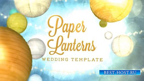 Paper Lanterns - After Effects Template (FluxVfx)