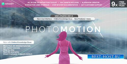 PhotoMotion - Professional 3D Photo Animator - Project for After Effects (V ...