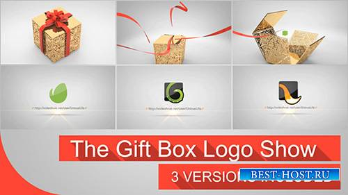 The Gift Box Logo - Project for After Effects (Videohive)