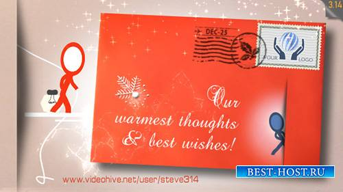 Inkman Christmas Holiday card - Project for After Effects (Videohive)
