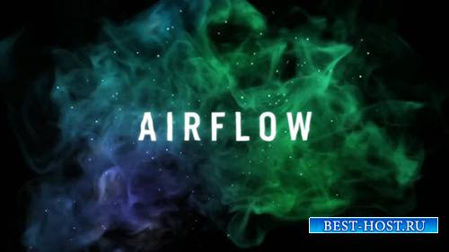 Airflow - Particle Logo Reveal - After Effects Template (RocketStock)