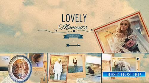 Lovely Moments - Project for After Effects (Pond5)