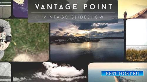 Vantage Point Vintage Video Slideshow - After Effects Template (RocketStock ...