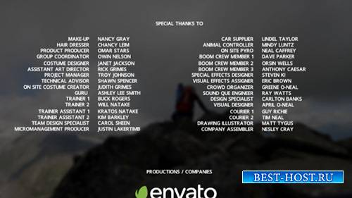 Film Credits 9742628 - Project for After Effects (Videohive)