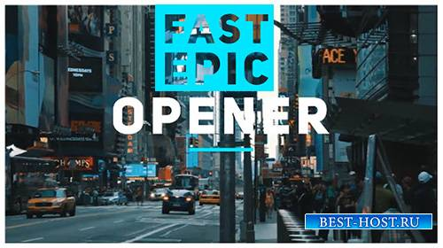 Fast Epic Promo - Project for After Effects (Motion Array)
