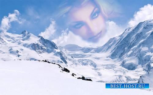 Фоторамка - Зимние горы