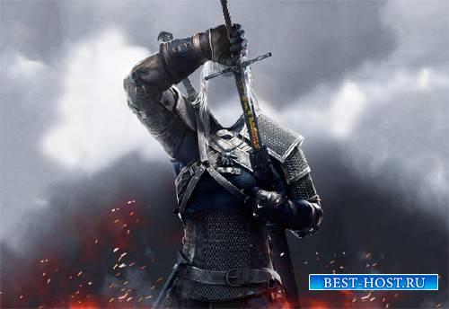 Шаблон для фото - Великий воин