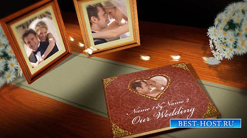 Vintage Wedding Book - After Effects Template (BlueFX)