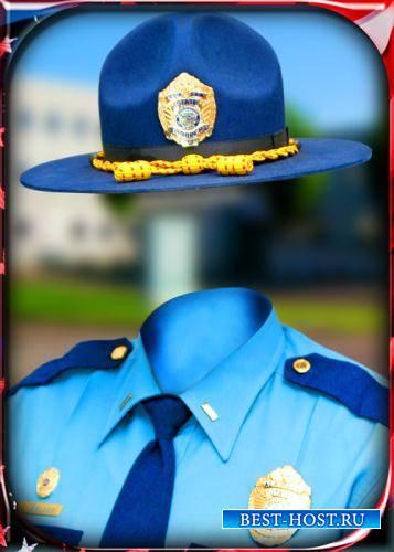 Фото шаблон - Местный шериф