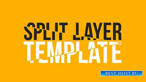 Split Layers - After Effects Template