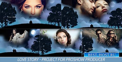 Love story - Project for Proshow Producer