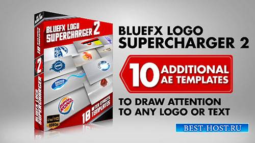 The Logo Supercharger Pack - 2 - After Effects Template (BlueFX)