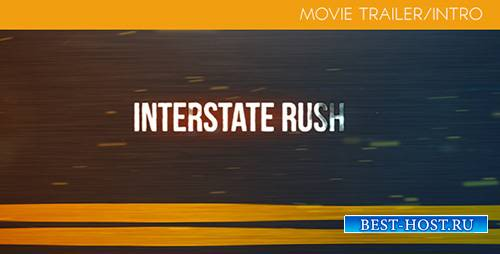 Interstate Rush - Movie Trailer/Intro - Project for After Effects (Videohiv ...