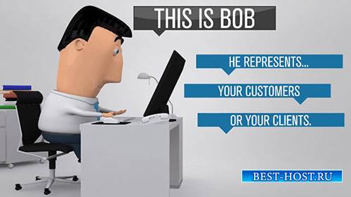 Bob Business Promoter - After Effects Template (BlueFX)