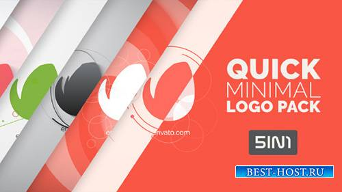Quick Minimal Logo Pack - Project for After Effects (Videohive)
