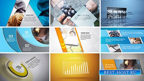 Promotional Corporate Project - After Effects Template (pond5)