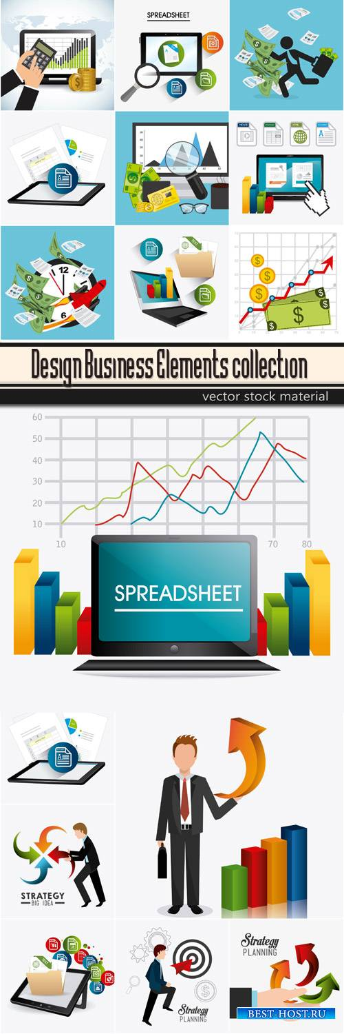 Design Business Elements collection