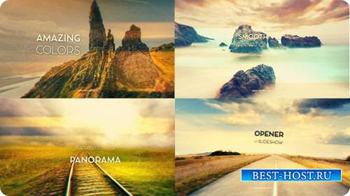Panoramic Opener - Project for After Effects (Videohive)