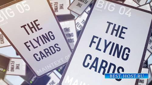Flying cards - Project for After Effects (Videohive)