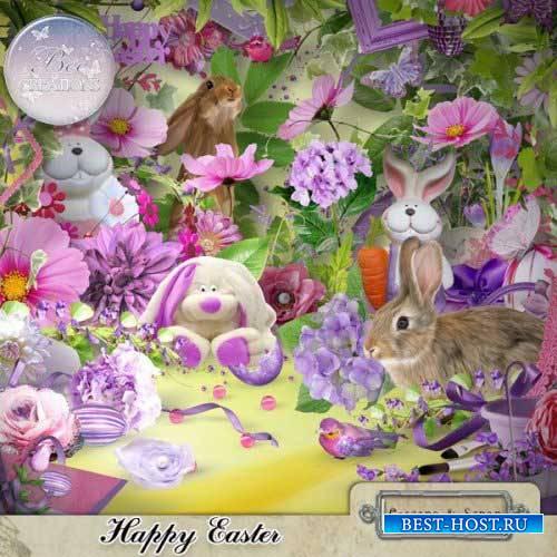 Весенний скрап-набор - Happy Easter