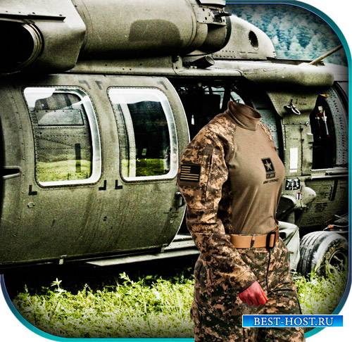 Шаблон - У вертолета