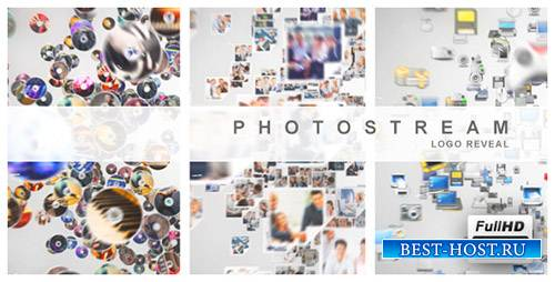 Photo Stream Logo Reveal - Project for After Effects (Videohive)