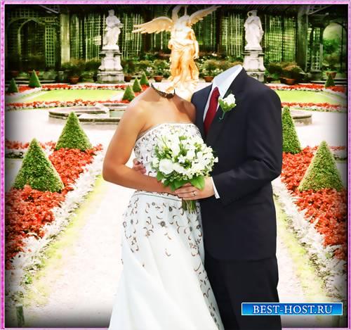 Шаблон для фотошопа - Наша свадьба