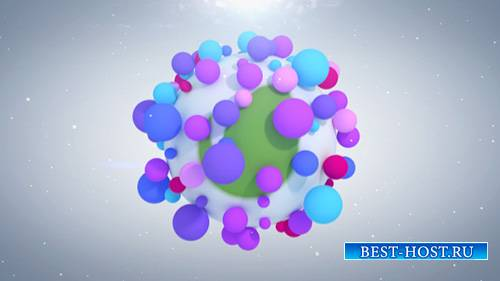 Vibrant Particles Logo Reveal - Project for After Effects (Videohive)