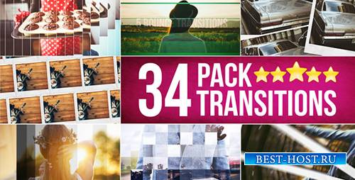 34 Transitions Pack - Project for After Effects (Videohive)