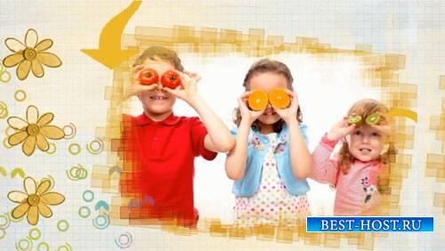 Детский проект для ProShow Producer - Лучшие моменты лета
