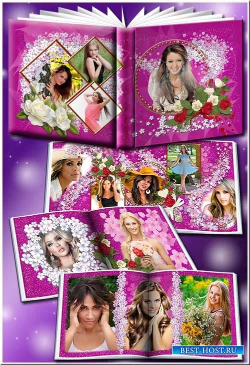 Ты прекрасна, как сама весна - Женский фотоальбом