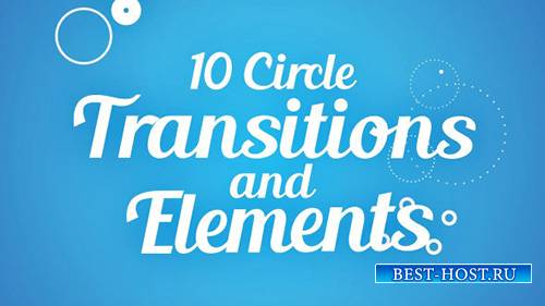 Circle Transitions and Elements - Project for After Effects (Videohive)