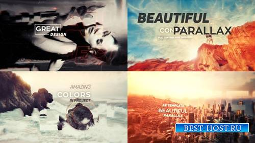 Beautiful Parallax - Project for After Effects (Videohive)