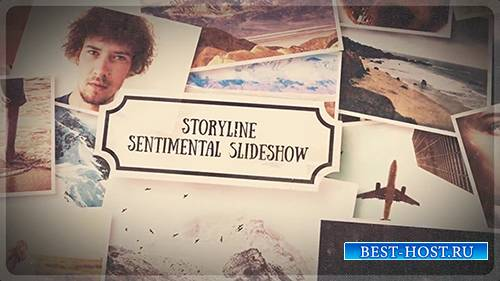 Storyline - Sentimental Slideshow - After Effects Template (RocketStock)