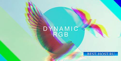 Dynamic RGB Slideshow - Project for After Effects (Videohive)