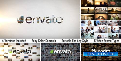 Slideshow Logo Reveal - Project for After Effects (Videohive)
