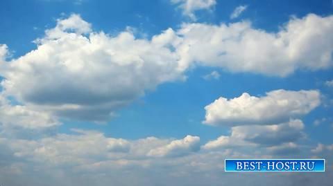 Футаж - Быстро летящие облака